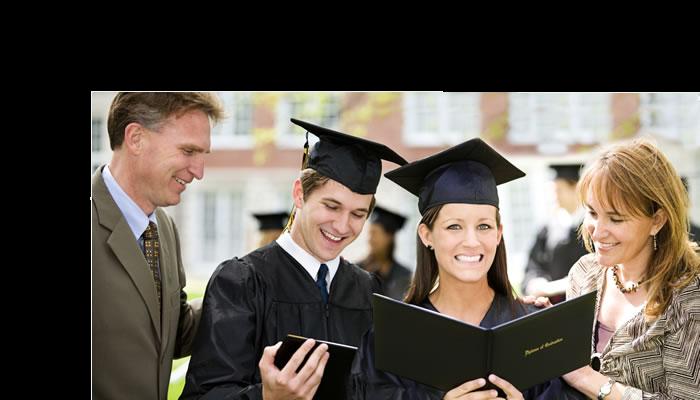 family graduation college